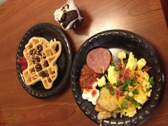 Residence Inn San Antonio Downtown/Alamo Plaza: Break Fast!