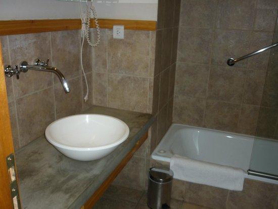 Hosteria ACA Al Sur : baño