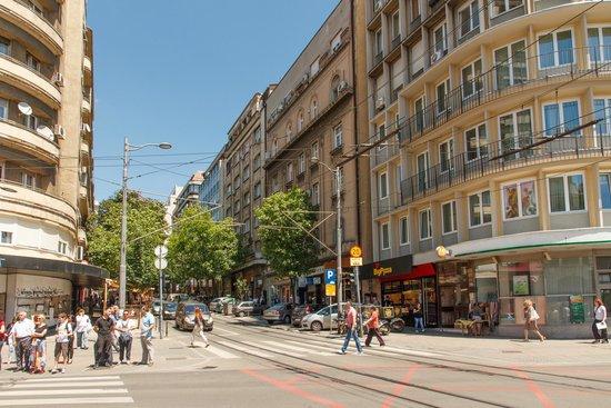 resavska ulica beograd mapa Apartments Belgrade Center  Resavska   na slici je Apartments  resavska ulica beograd mapa
