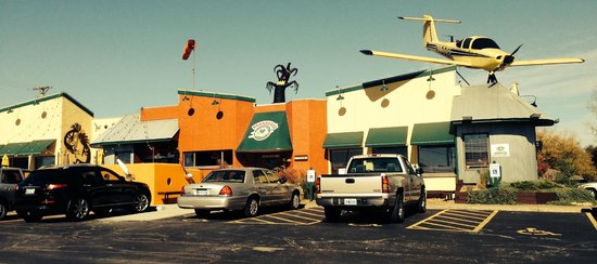 Habanero S Mexican Restaurant Lee Summit The Airplane Is Real