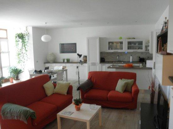 B&B and Apartments CasaVeraOrvieto: living room / Dining room