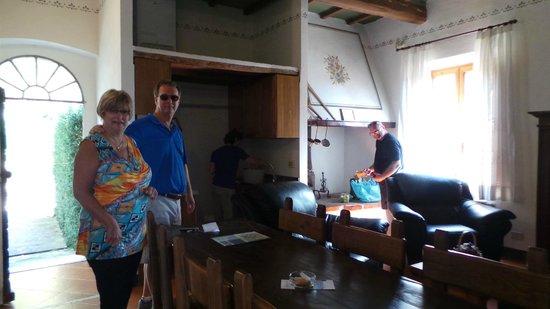 Fattoria del Colle - Agriturismo: Room Donatella - very cramped