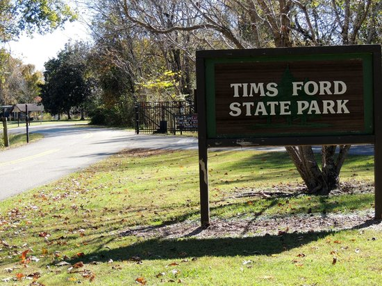 Tims Ford State Park: entrance
