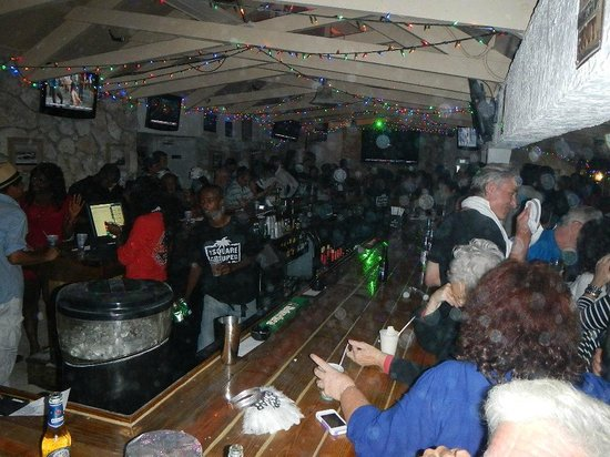Mackeys Sand Bar: Party down on New Years ever inside