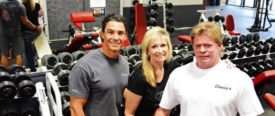 The Gym Maui : Owners Scott Waterloo, Donna Kear, and Steve Kear