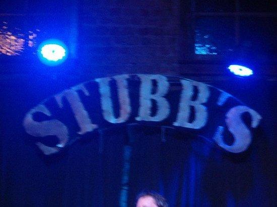 Stubb's Bar-B-Q: cool vibe setting