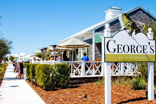George S At Alys Beach Front Of