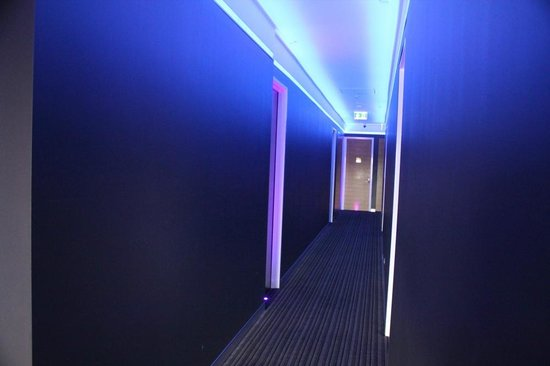 Corridor at the Junction Hotel