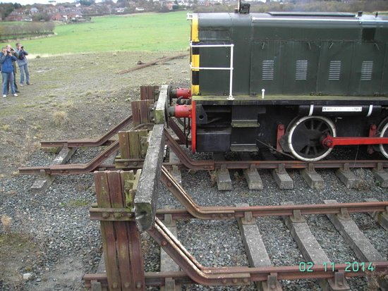 Telford Steam Railway: We reached the end of the line!