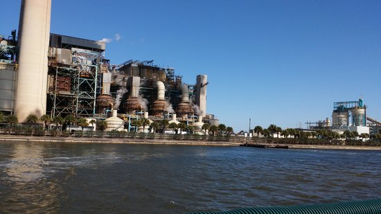 Tampa Electric Manatee Viewing Center: The teco plant