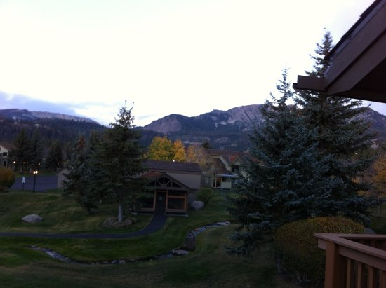 Vacation Rentals at Snowcreek Resort in Mammoth Lakes: View from the deck