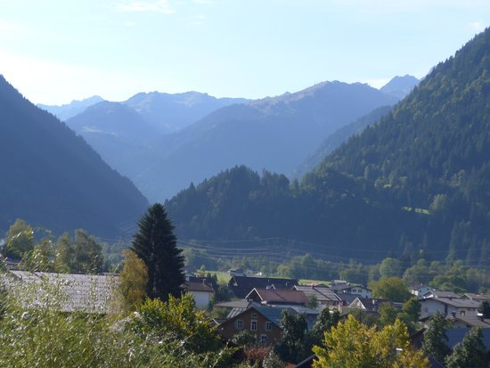 Loewen Hotel Montafon: view from our suite