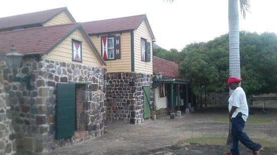 Fort Zoutman: Fort entrance building