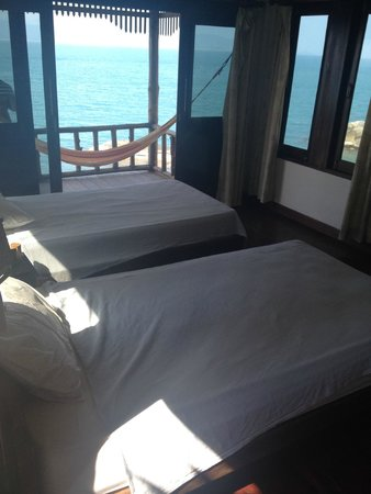 Lighthouse Bungalows: Our 2 single beds