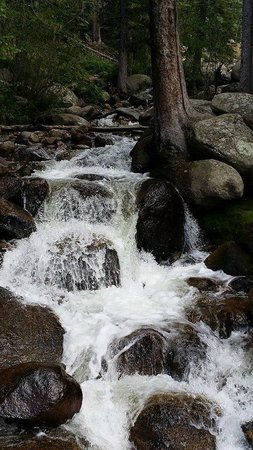 Mount Evans: Waterfall on the way up