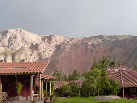 Villa Urubamba Sacred Valley: Backdrop of Lodge