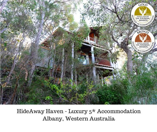 HideAway Haven: Gold Medal Winners at WA Tourism Awards
