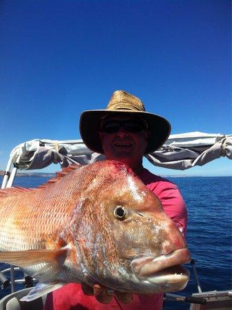 Aldinga Beach: Big big snapper 105 cm