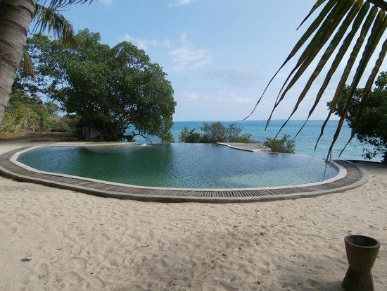 Chapwani Private Island: Piscine d'eau de mer