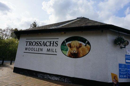 Trossachs Woollen Mill: building