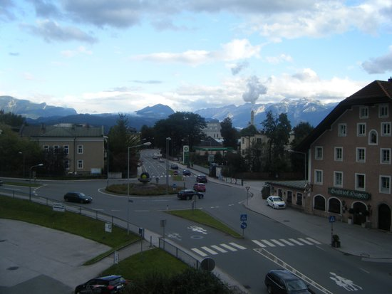 Hotel Hafnerwirt: View from our room
