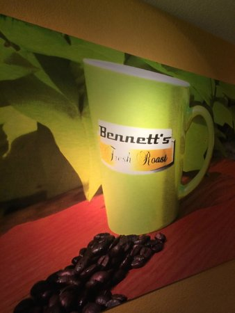 Bennett's Fresh Roast: Wall Art at Bennett's