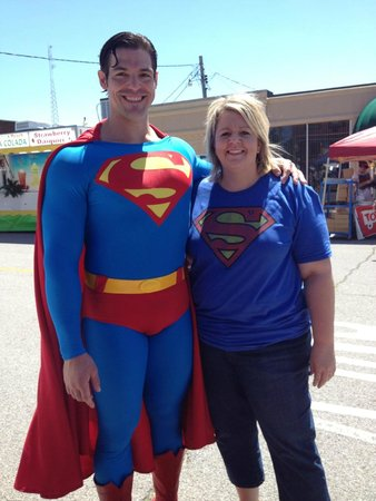 Superman Statue : Me and Superman
