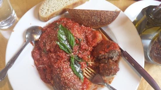 Pasta Piatti: Polpette! Amazing!!!