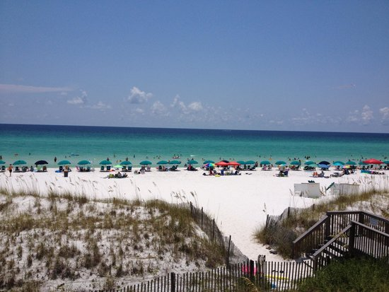 Crystal Sands Condominiums: Gorgeous view from condo 105B!