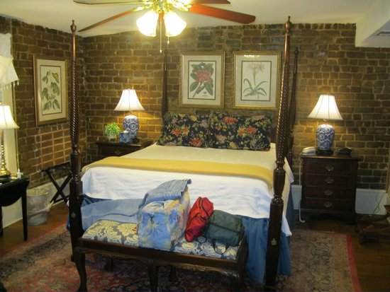 The Bedroom On The Upper Floor Of The Lane Cottage Picture