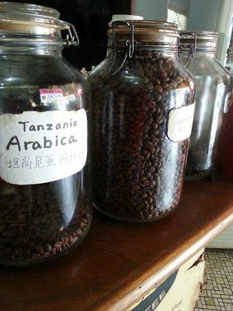Black Bean : Coffee beans