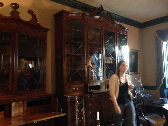Heyward-Washington House : The House