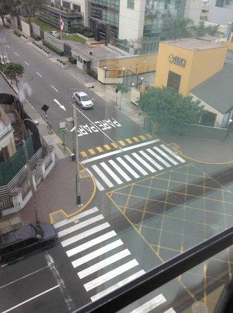 Hotel Miramar : vista desde la habitacion