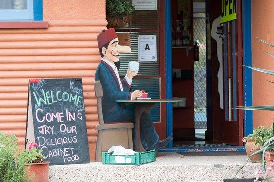 Virginia Lake: the coffee shop