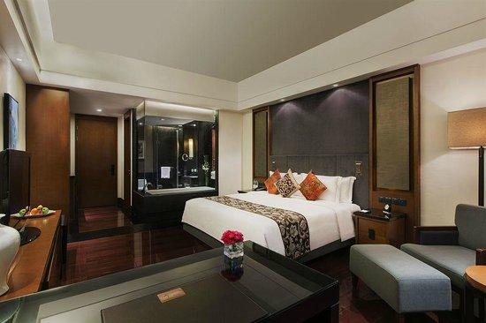 Worldhotel Grand Dushulake Suzhou: Nice Single Double Bedroom
