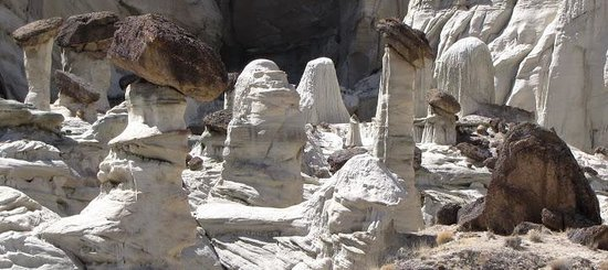 Wahweap Hoodos: small family of hoodoos