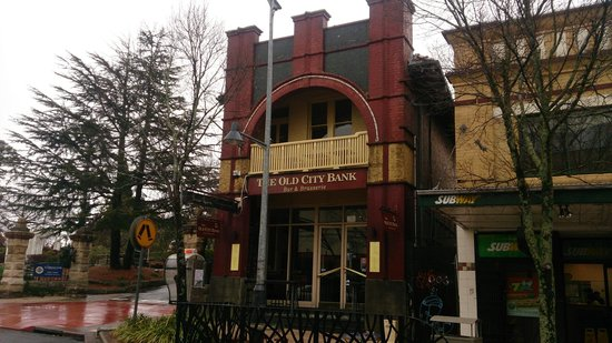 Old City Bank Brasserie: The Old City Bank