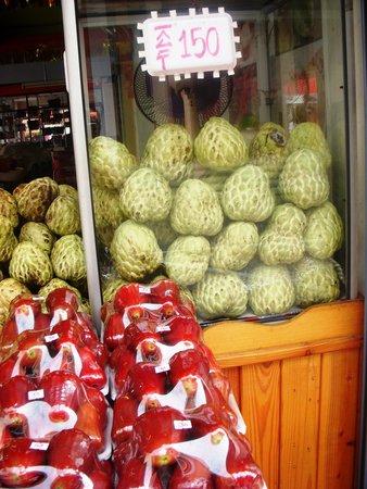 Indra Regent Hotel: fresh fruits