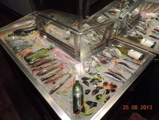The Butcher Shop & Grill: Seafood selection