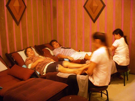 Indra Regent Hotel: Relaxing at the massage spa