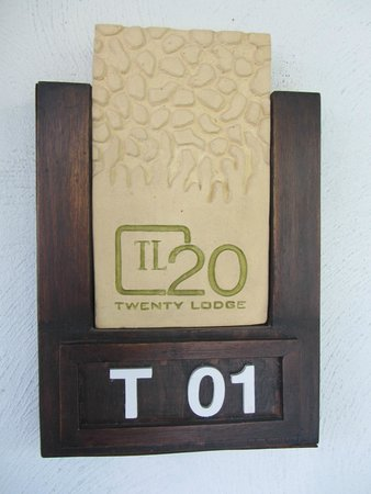The Twenty Lodge : lovely little touches