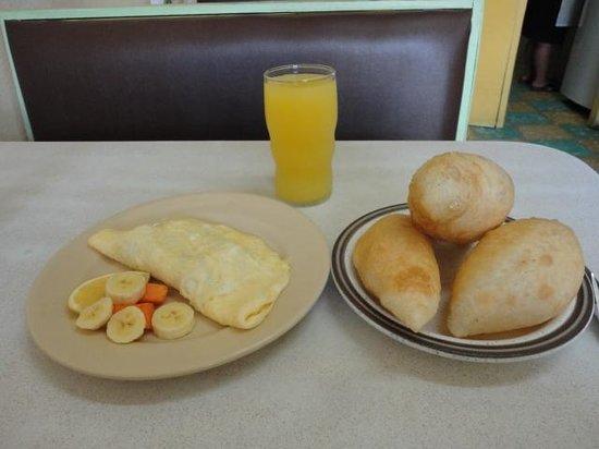 Pop's Restaurant : Meal at Pop's