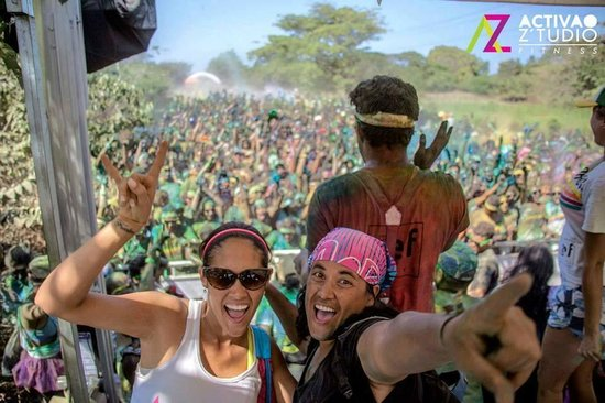 Activao Z'tudio Fitness : Activao present in big events - Color Run '14
