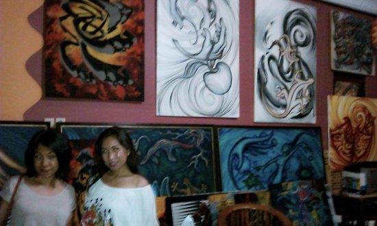 Losmen Setia Kawan : living room