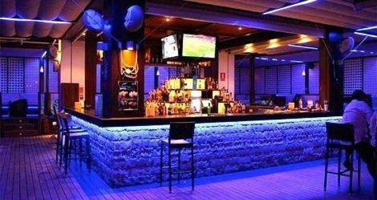 Barra Zona Copas Picture Of Azul Terraza Restaurante