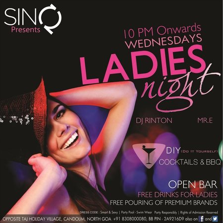 Ladies Night Every Wednesday Picture Of Sinq Night Club