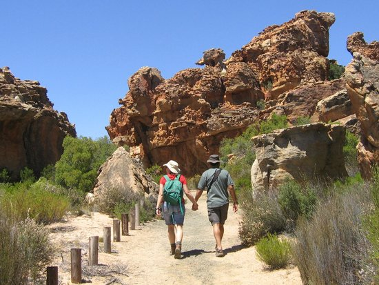 Cederberg, Sudáfrica: The Stadsaal walk