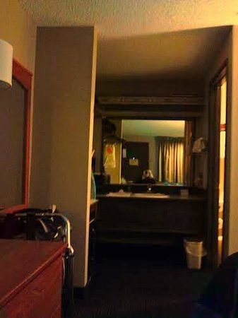Super 8 Albany: View Of One Part Of The Room