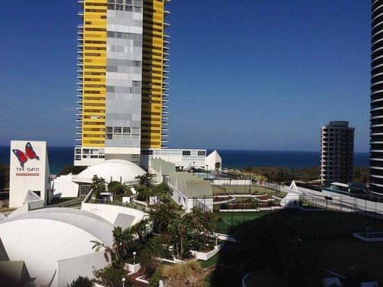 Sofitel Gold Coast Broadbeach: ocean view from 8th floor