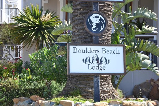 Boulders Beach Lodge and Restaurant: Ankunft
